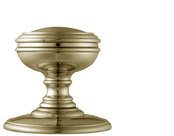 Delamain Plain Door Knobs (Concealed Fix), Florentine Bronze - DK35CFB